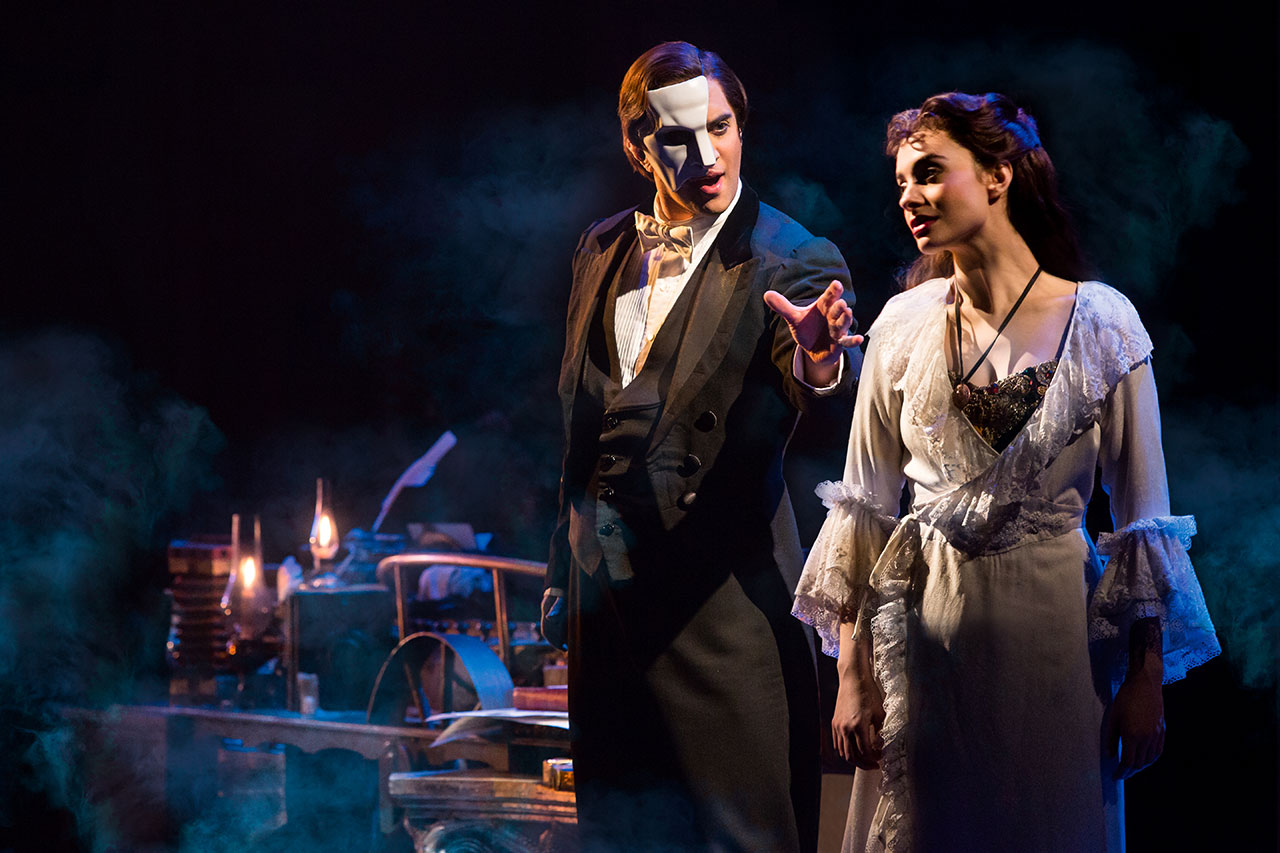 The Phantom Of The Opera On Tour Broadway Org