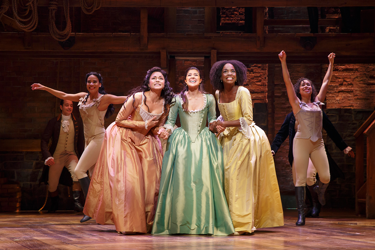 Hamilton on Tour   Broadway org