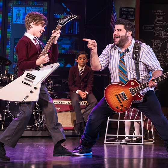 School Of Rock The Musical On Tour Broadwayorg