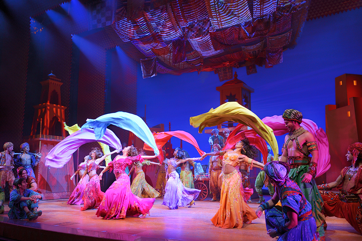 Aladdin On Tour Broadway Org