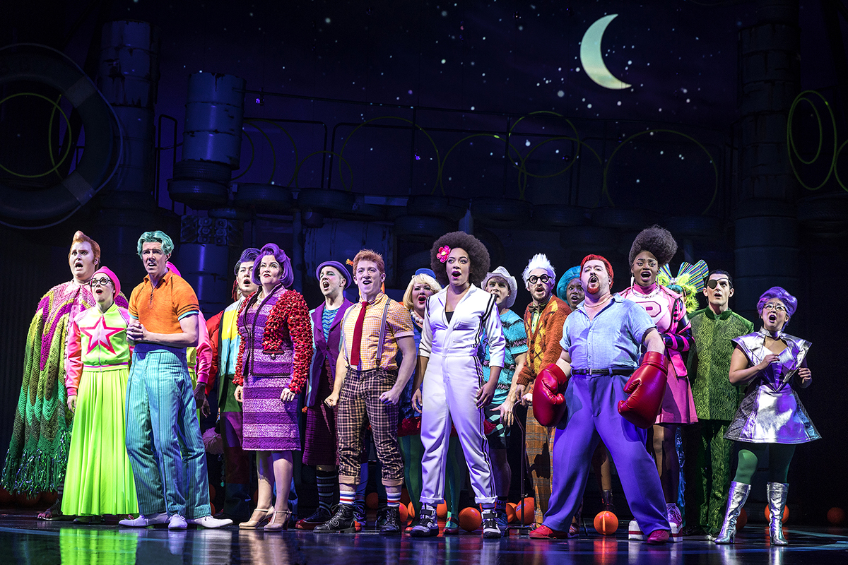 Spongebob squarepants the musical nyc for The broadway