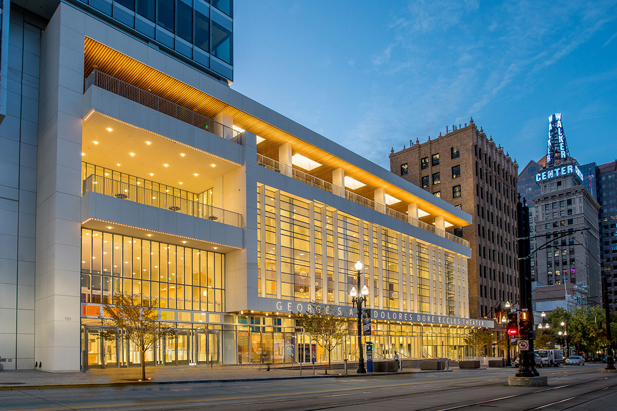 George S. and Dolores Doré Eccles Theater